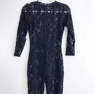 Nasty gal Sexy lace Jumpsuit